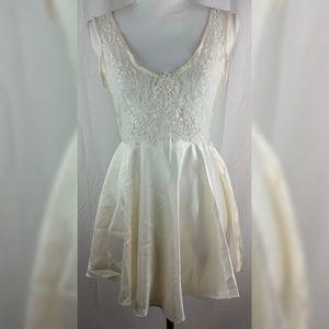 💀 Private Luxuries Small White Nightie Dress